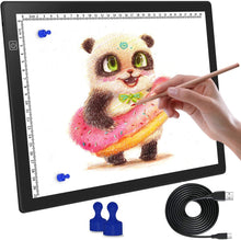 Load image into Gallery viewer, Ntech A4 LED Light Box Tracing Pad