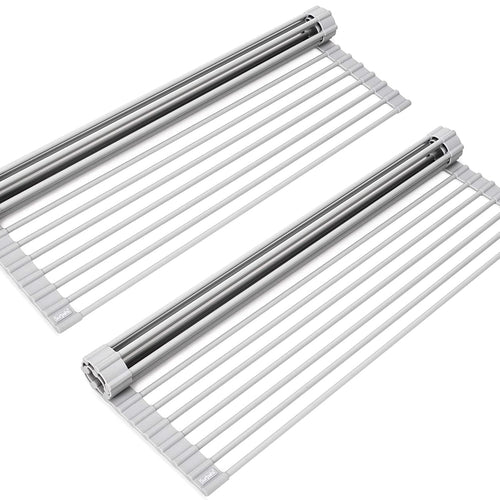 Maisonware Over The Sink Roll Up Drying Rack Pack of 2