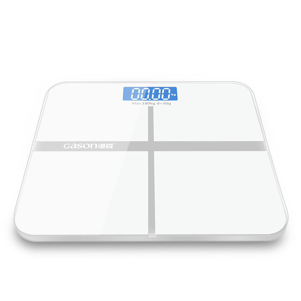 Gason Bathroom Bodyweight Electronic Scale - White | Monthly Madness