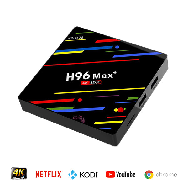H96 Max Plus Android 8.1 TV Media Box - RK3328 32GB | Monthly Madness