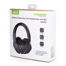 Load image into Gallery viewer, Avantree ANC031 Active Noise Cancelling Bluetooth Headset - Black | Monthly Madness