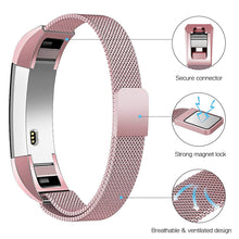 Load image into Gallery viewer, Linxure Milanese Strap for the Fitbit Alta - Small | Monthly Madness