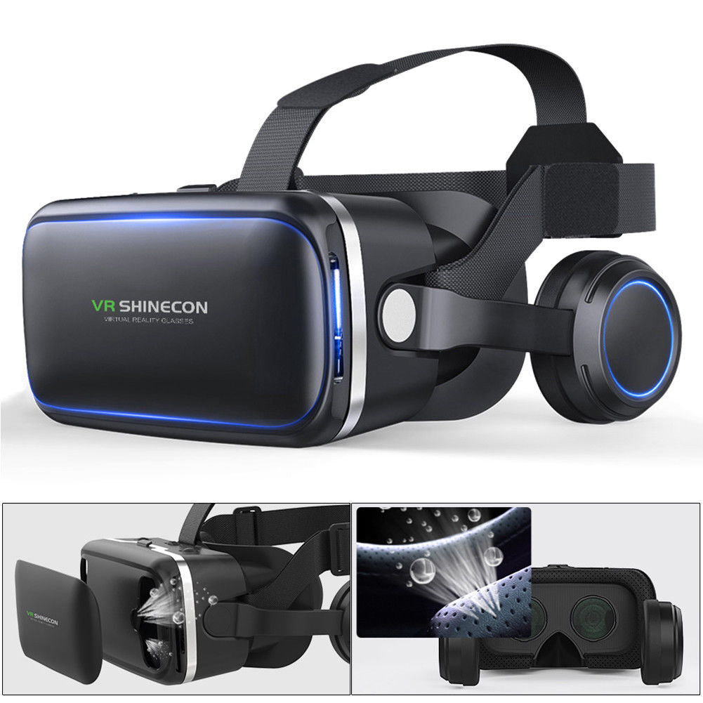 VR Shinecon 6.0 Headset Virtual Reality Glasses | Monthly Madness