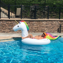 Load image into Gallery viewer, Giant Unicorn Inflatable Pool Lilo - White | Monthly Madness