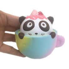 Load image into Gallery viewer, Gigglebread Scented Squishy Panda Cup Cake - Set of 2 | Monthly Madness