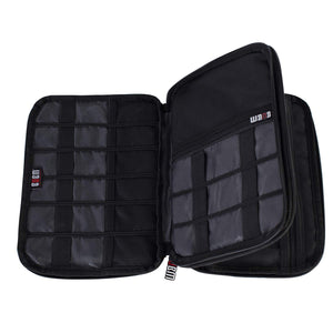 BUBM Double-Layered Electronic and Cable Organizer Case - Large | Monthly Madness