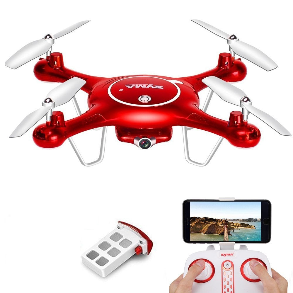 Syma X5UW Quadcopter Drone with HD Camera | Monthly Madness
