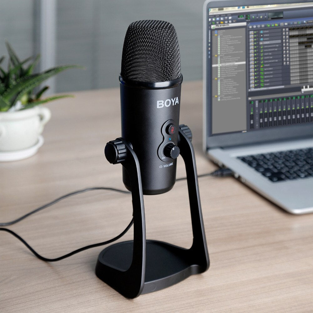Boya BY-PM700SP  USB Condenser Microphone | Monthly Madness