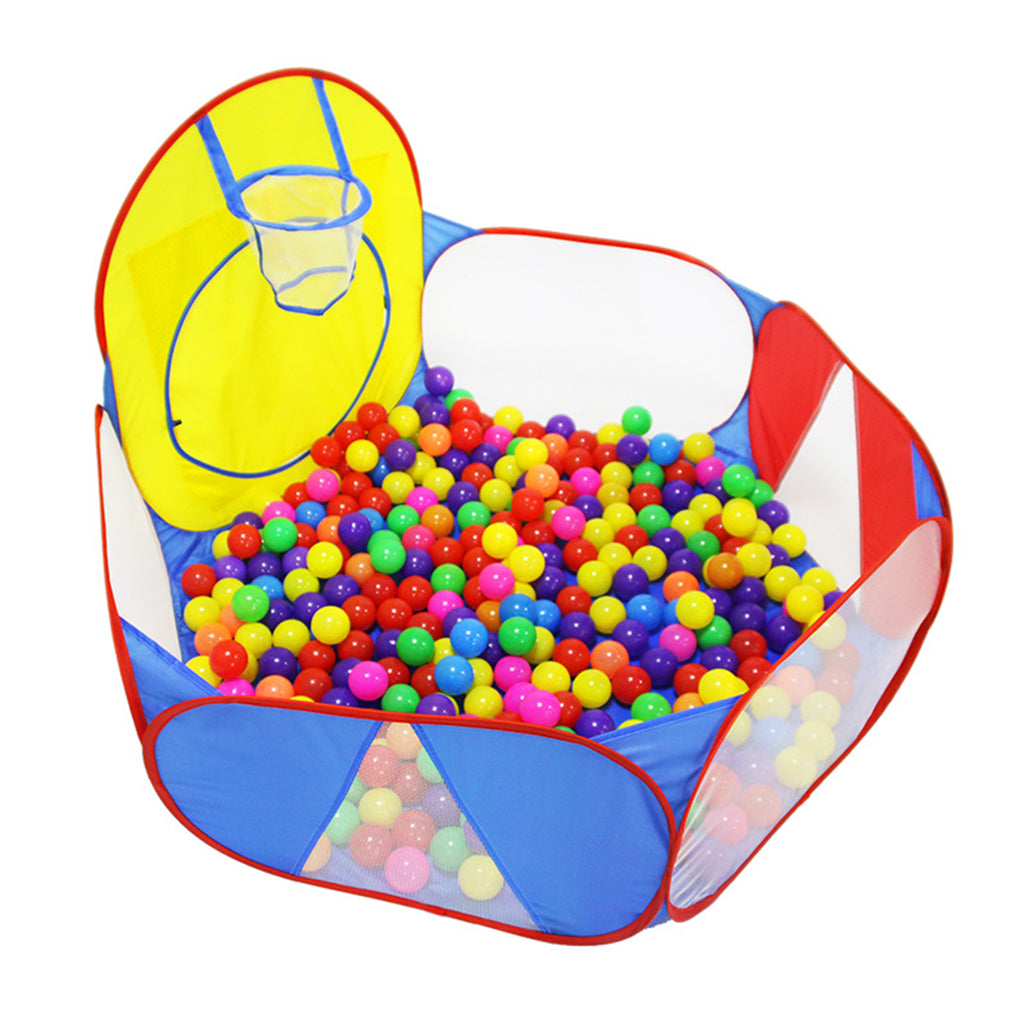 ComfyKids Ocean Ball Pit with Basketball Hoop | Monthly Madness