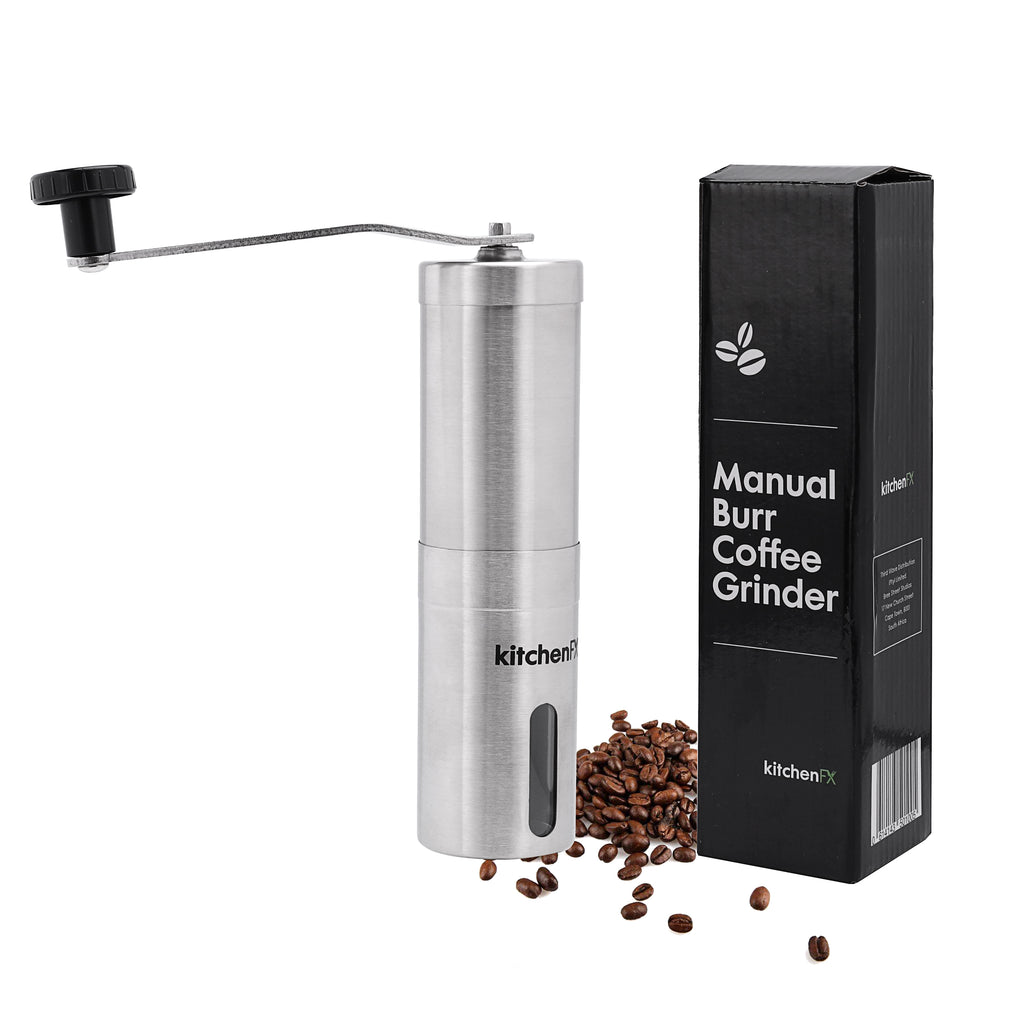 KitchenFX Manual Coffee Grinder Burr Mill | Monthly Madness