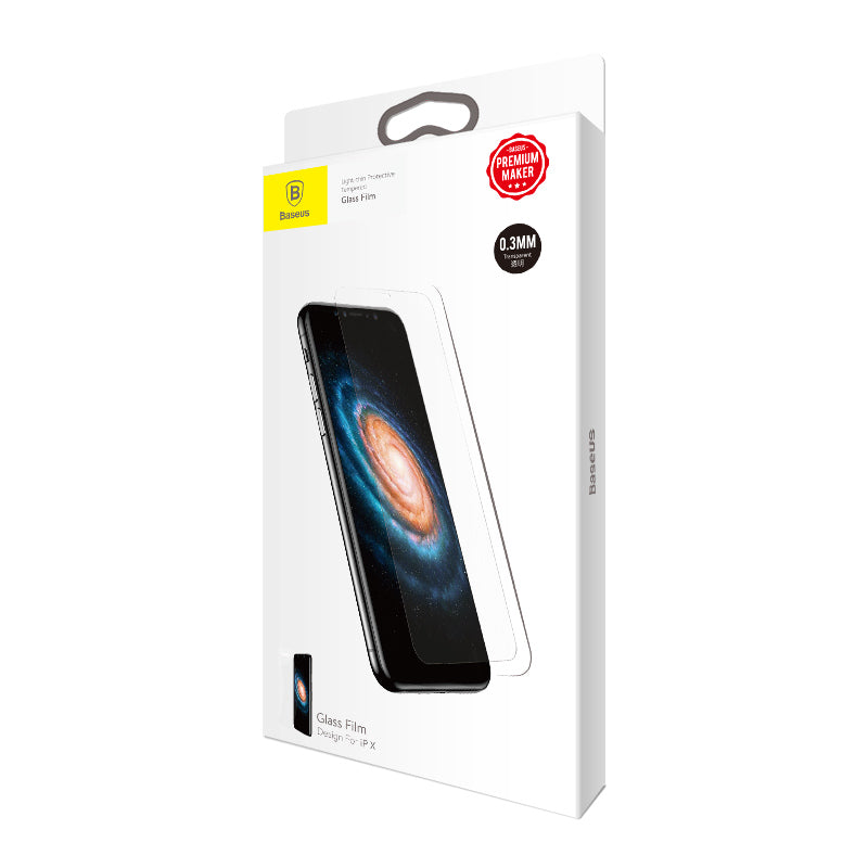 Baseus iPhone X Tempered Glass Screen Protector - 0.3mm (Parallel Import) | Monthly Madness