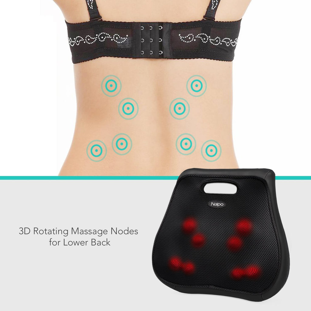 Naipo 3D Back & Waist Massage Cushion | Monthly Madness