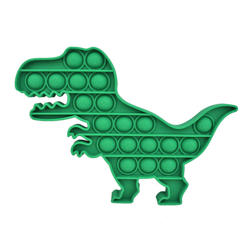 Dinosaur Pop and Push Bubble Fidget Sensory Toy