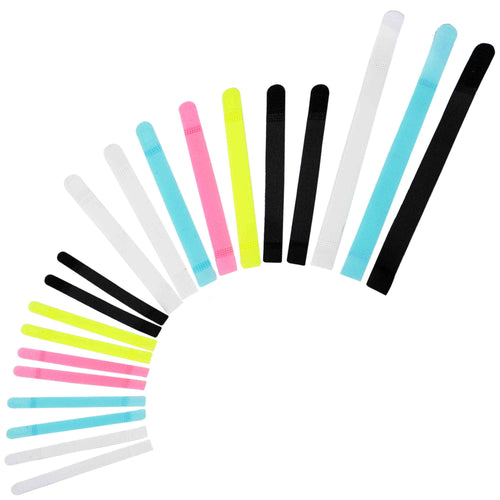 Avantree Reusable Colourful Cable Ties - 20 Piece