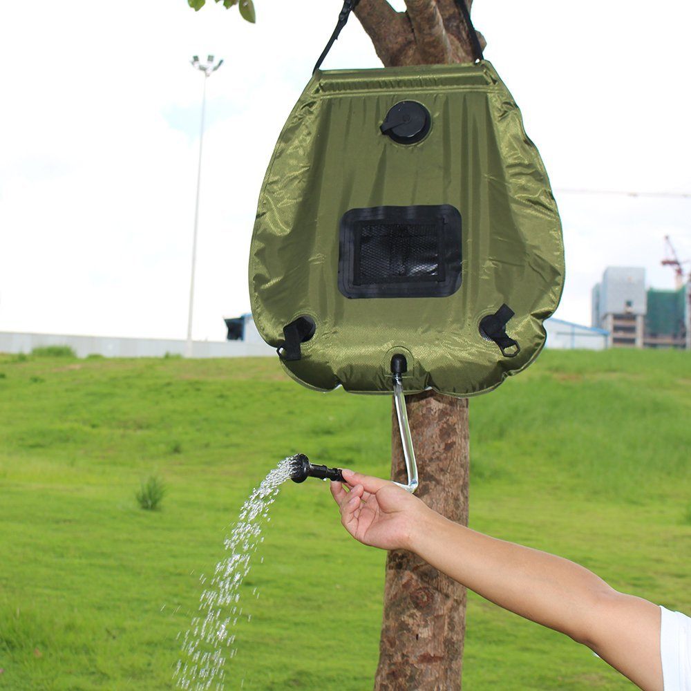 Everspray Portable Solar Outdoor Shower - 20L | Monthly Madness