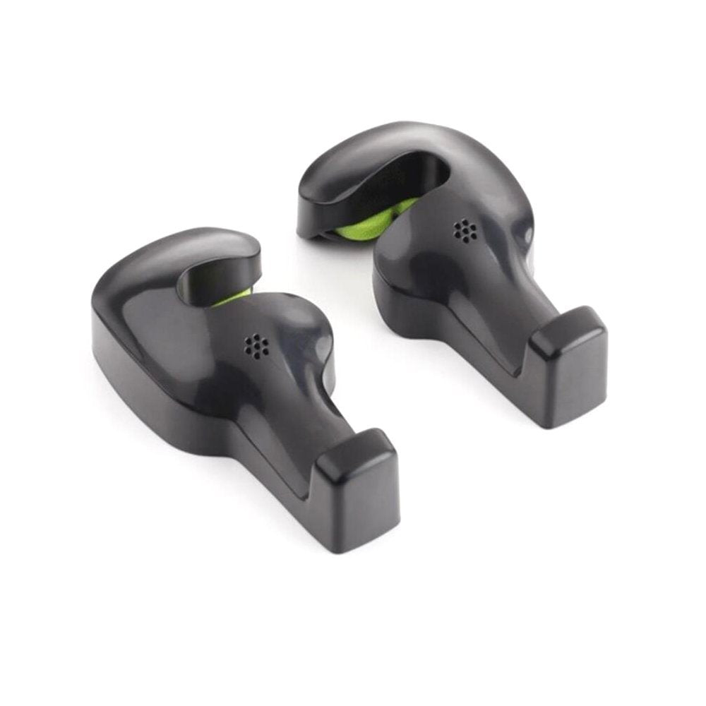 CRX Universal Back Seat Headrest Bag Holder Hooks - Set of 2 | Monthly Madness