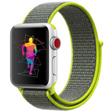 Load image into Gallery viewer, Linxure Nylon Woven Sports Strap for Apple Watch | Monthly Madness