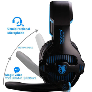 Sades 810 Gaming Headphones with Microphone | Monthly Madness