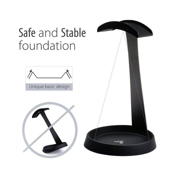 Avantree Aluminum Metal Headphone Stand Hanger with Cable Holder | Monthly Madness