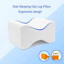 Load image into Gallery viewer, Orthopedic Knee Contour Pillow with Memory Foam
