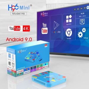 Ntech H96 Mini 6K HD Android 9 Smart TV Box With H9 Mini Keyboard | Monthly Madness