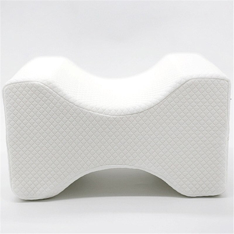 Orthopedic Knee Contour Pillow with Memory Foam