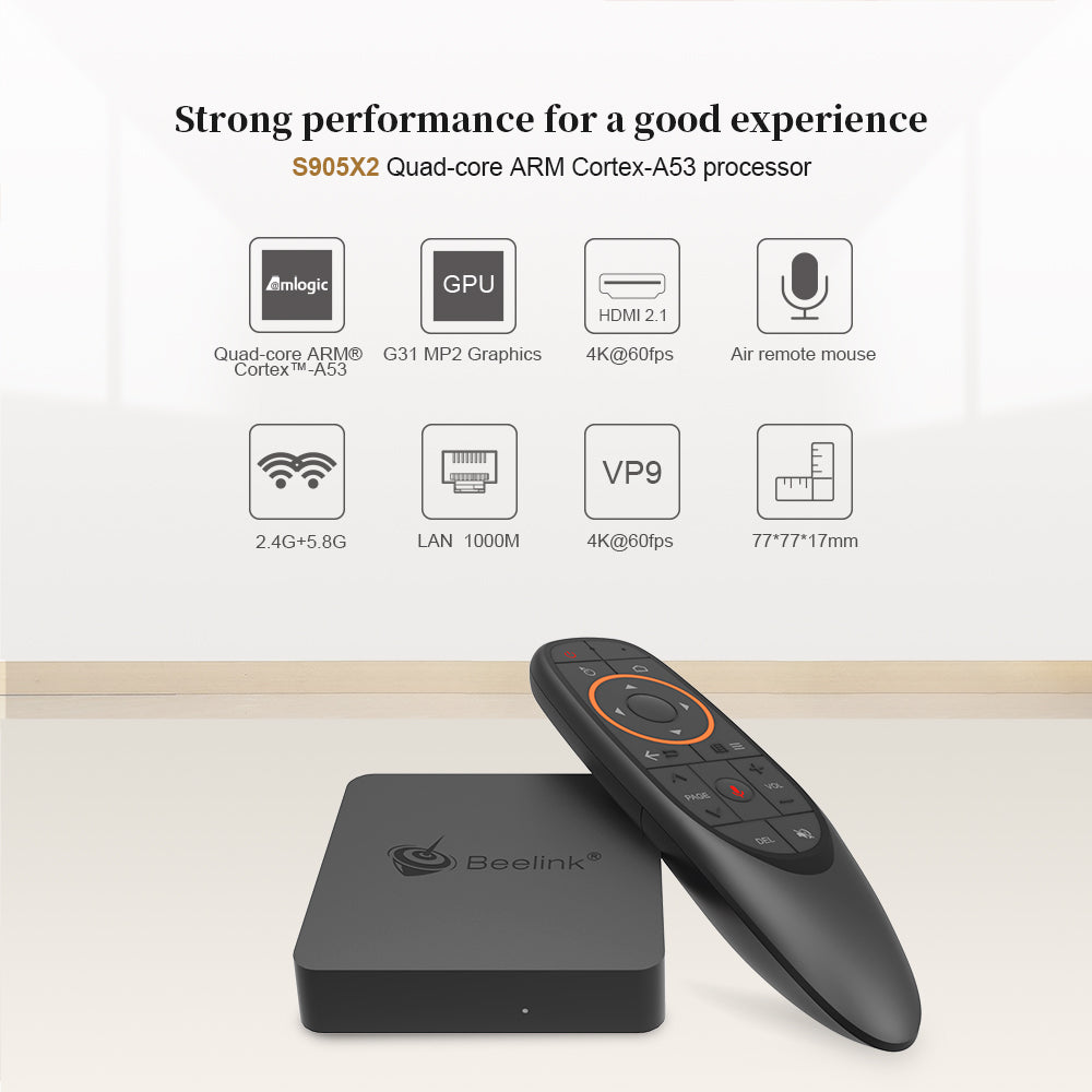 Beelink GTA Mini 4GB Android Media TV Box with DSTVNow | Monthly Madness