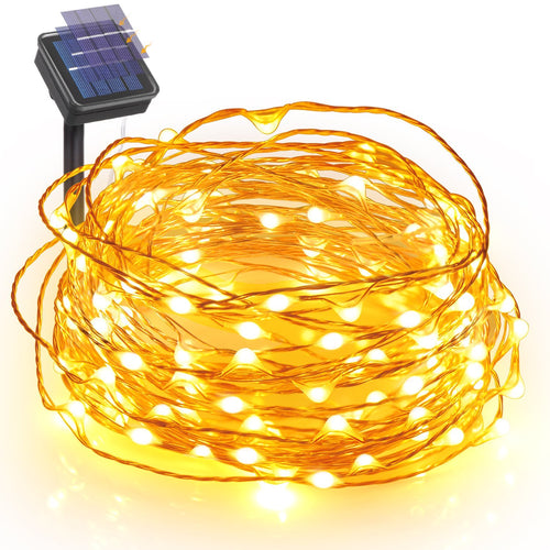 Lumina 10m Solar Fairy Light - Warm White