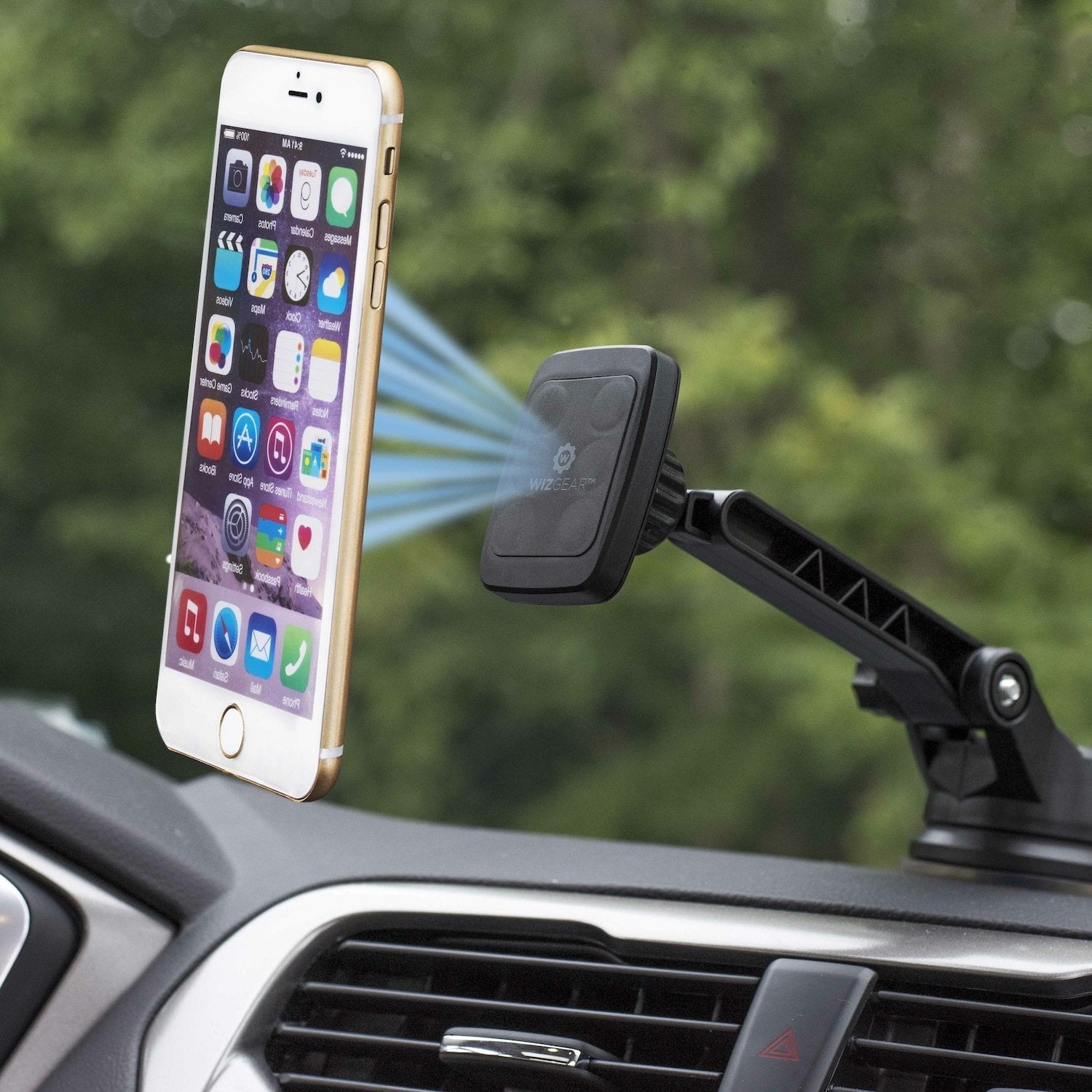 WizGear Universal Magnetic Car Windshield & Dashboard Mount Holder | Monthly Madness