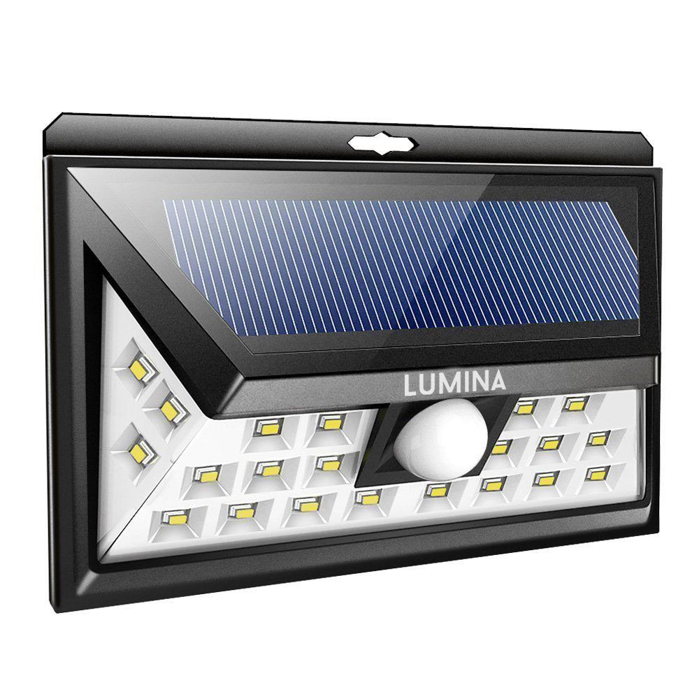 Lumina 24 LED Motion Sensor Solar Light | Monthly Madness