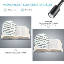 Load image into Gallery viewer, Avantek Clip On Desk Reading Light | Monthly Madness
