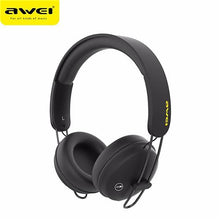 Load image into Gallery viewer, Awei A800BL Wireless Bluetooth Headphones with Detachable Cable & Mic - Black | Monthly Madness