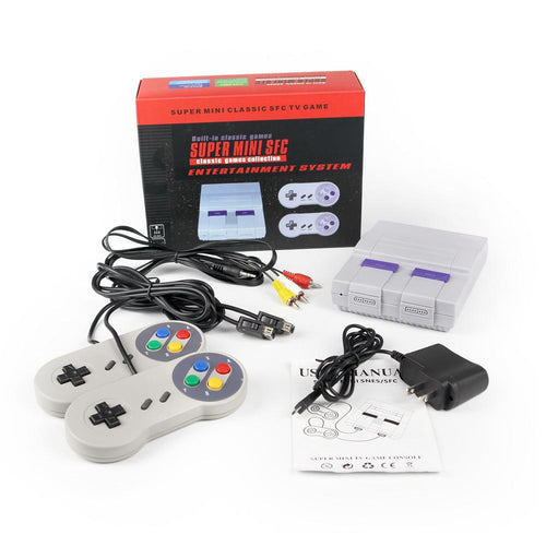 Super Mini Classic 8 Bit Game Console - 400 Games Included