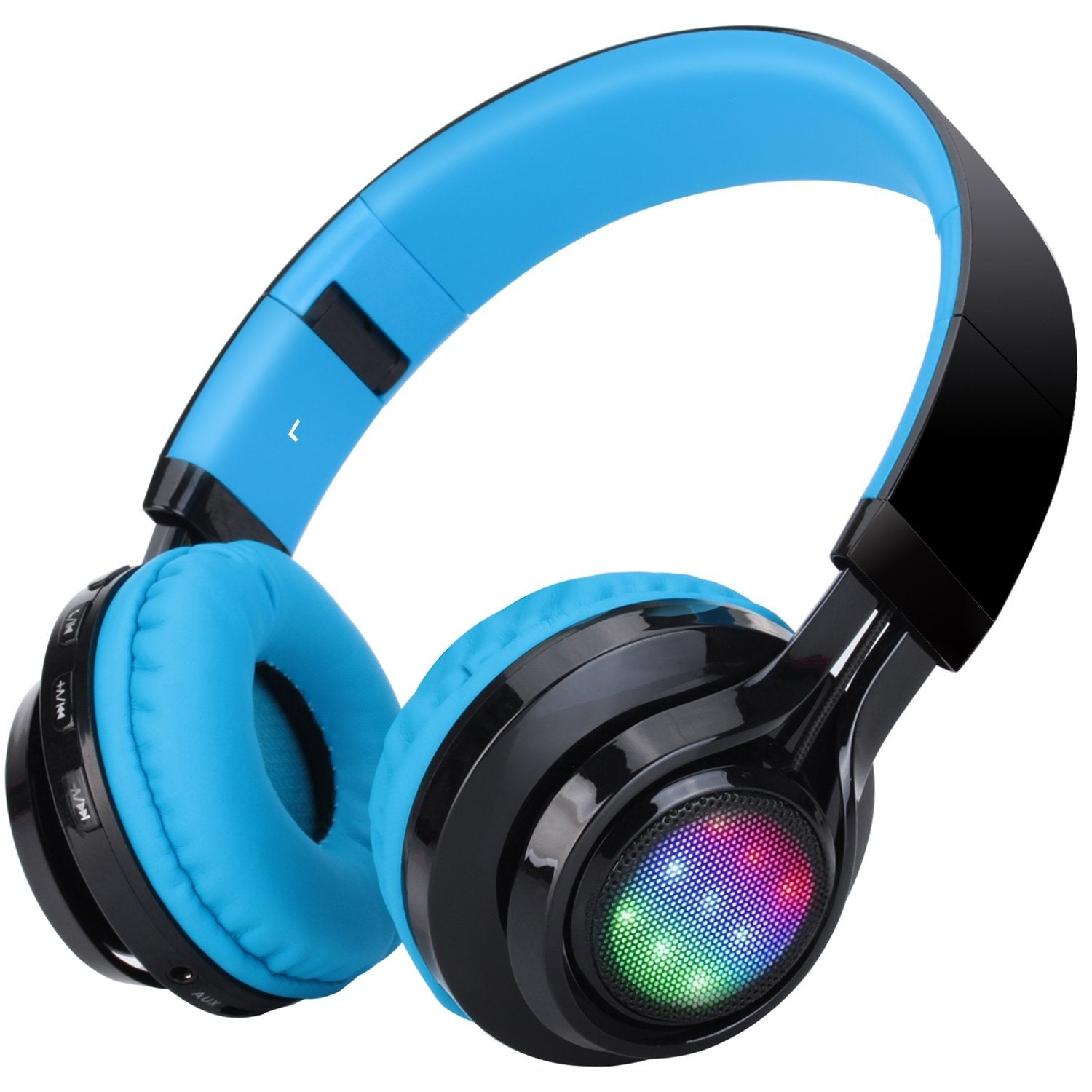 LED Light Bluetooth Foldable Headphones | Monthly Madness