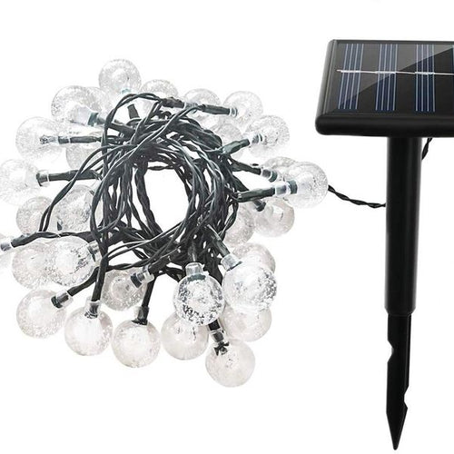 Lumina Crystal Ball Solar Powered Fairy Lights