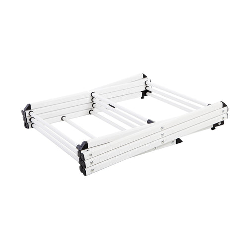HomeFX Foldable Extendable Clothes Drying Rack