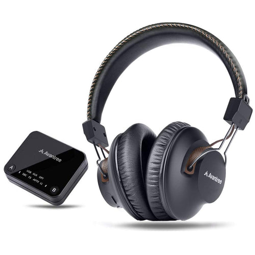 Avantree HT4189 TV Wireless Headphones and Transmitter Set