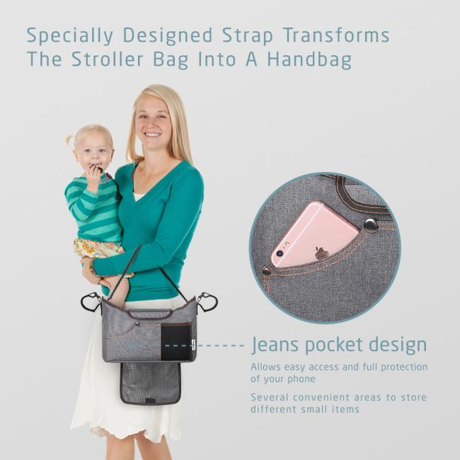 Jerrybox Stroller Multifunctional Organizer Bag | Monthly Madness