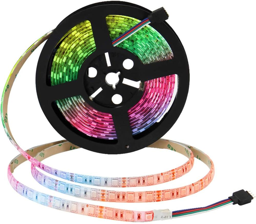 Lumina RGB 150 LED 5m Rope Strip Lights with Remote Set of 2