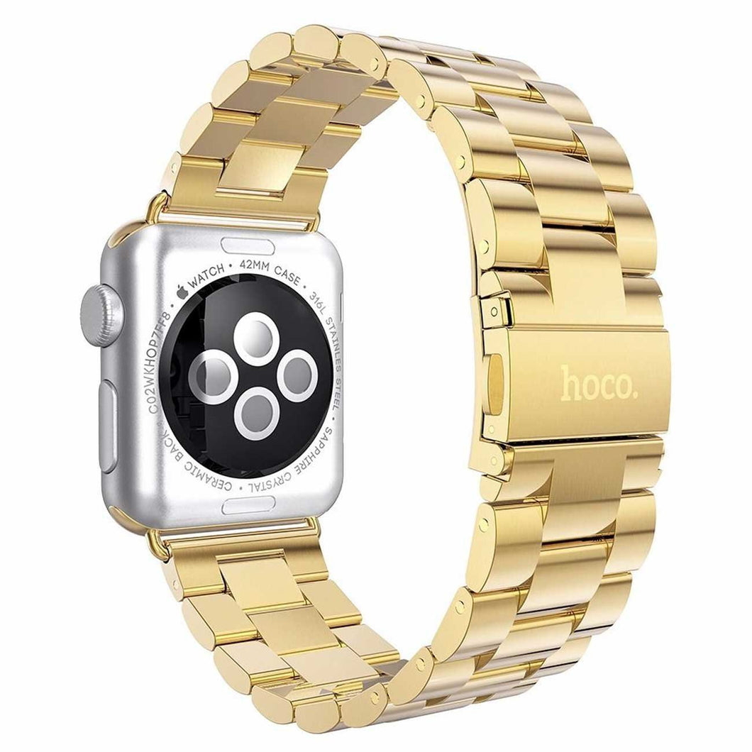 Hoco Classic Plated Stainless Steel Apple Watch Band | Monthly Madness