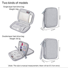 Load image into Gallery viewer, BUBM Portable External Hard Drive Carry Case | Monthly Madness