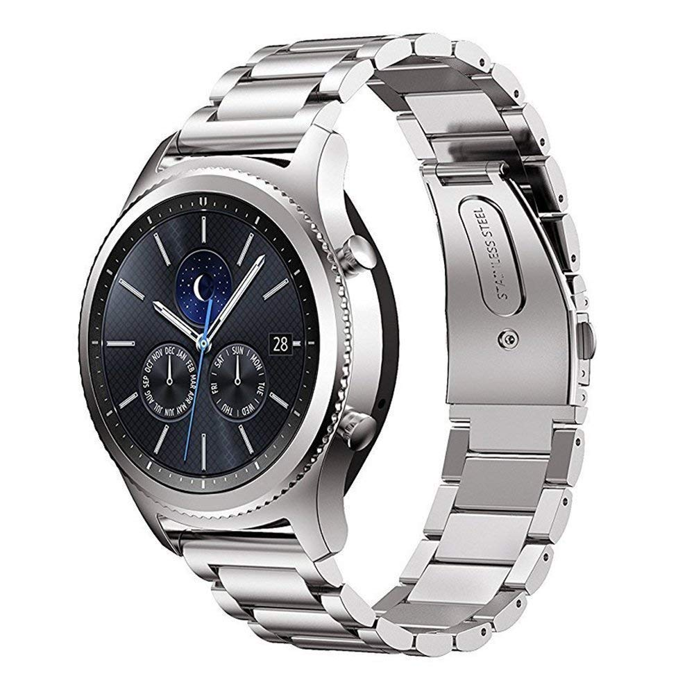 Linxure Stainless Steel Replacement Strap for Samsung Gear S3 | Monthly Madness