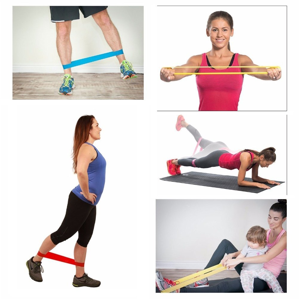 SportFX Resistance Bands - 5 Set with Bag | Monthly Madness
