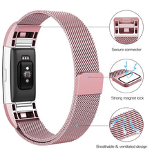 Load image into Gallery viewer, Linxure Milanese Strap for the Fitbit Charge 2 - Large | Monthly Madness