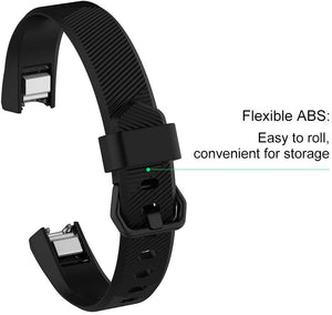 Linxure Fitbit Alta HR Silicone Replacement Strap -  Large | Monthly Madness