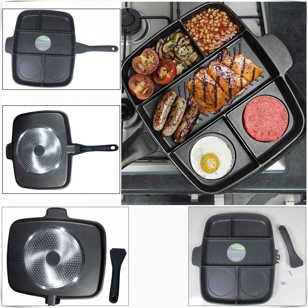 Magic 5 in 1 Non Stick Frying Pan | Monthly Madness
