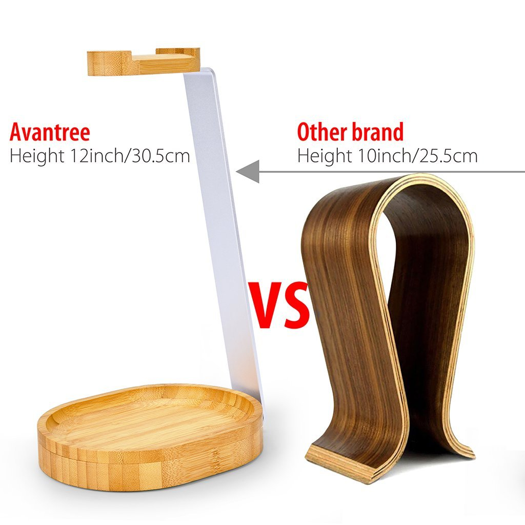 Avantree Bamboo Universal Headphone Stand | Monthly Madness