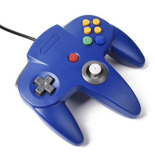 N64 Style USB Wired Controller - Blue