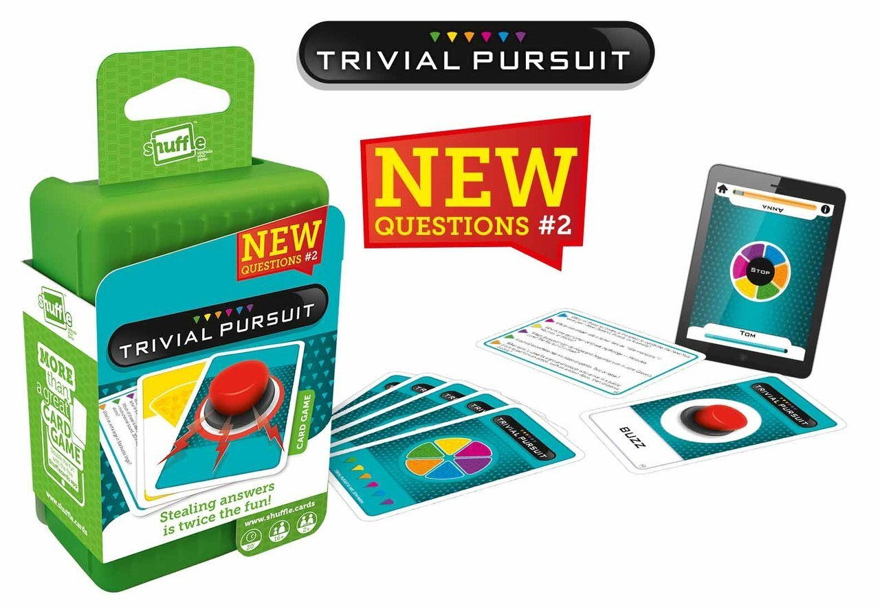 Shuffle Trivial Pursuit | Monthly Madness