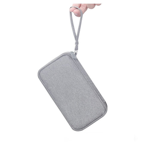BUBM Portable Power Bank Travel Carry Case - Grey